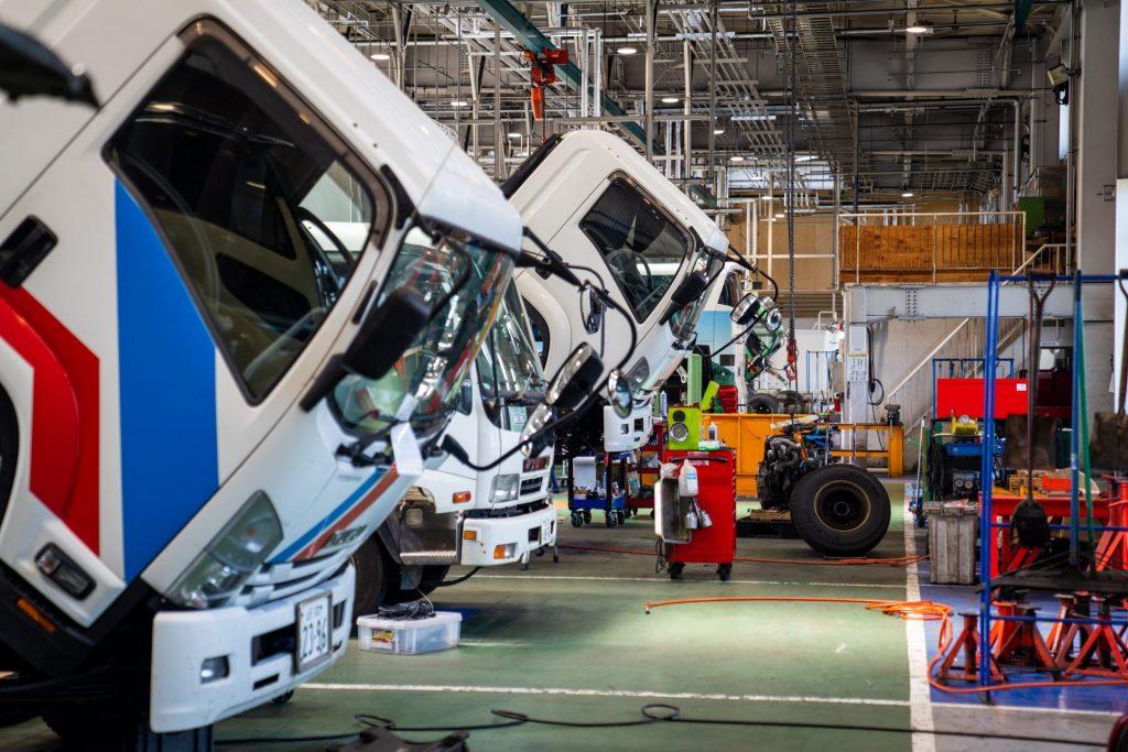 写真:工場の様子